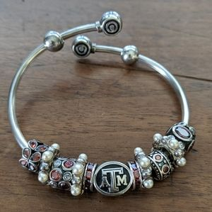 Texas A&M Pandora Bracelet and Charms